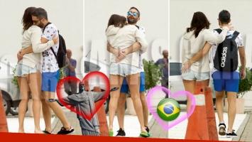 Ivana Nadal y el Pollo Álvarez, infraganti en Río de Janeiro. (Foto: revista Caras)