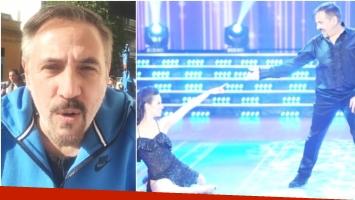 Alejandro Lerner explicó los motivos de su renuncia al Bailando (Fotos: Captura y Prensa Ideas del Sur)