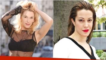 El cruce de Yanina Latorre y Miriam Lanzoni en Twitter (Fotos: Web)