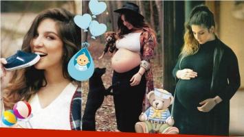 Las fotos de Juana Repetto a 2 meses de la llegada de su primer hijo. Foto: Gente