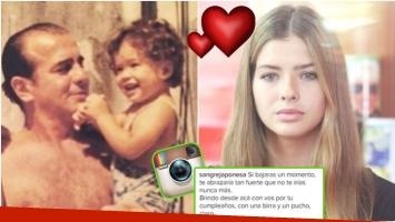El emotivo recuerdo de la China Suárez a su papá por su cumpleaños (Fotos: Instagram y Web)