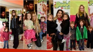 ¡Lluvia de famosos y sus hijos en la nueva obra de Panam! Foto: Christian Molina