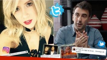 Los tweets de Laurita Fernández y Fede Hoppe, tras la separación. (Foto: Web)