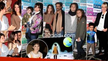 Flor Torrente estrenó A la luna. Foto: Movilpress