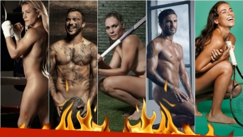 Los deportistas argentinos se desnudan para el Body Issue 2016. Foto: ESPN Magazine