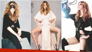 La producción sexy de Verónica Lozano para la revista Gente (Fotos: revista Gente)
