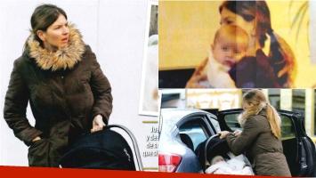 Marcela Kloosterboer, mamá babosa de su beba Juana. Foto: ¡Hola! Argentina
