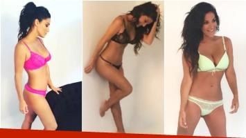 La producción sexy de Silvina Escudero en ropa interior (Fotos: Instagram)