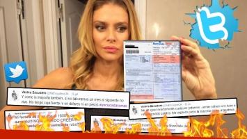 Los furiosos tweets de Vanina Escudero, tras recibir la factura de gas. (Foto: Web)