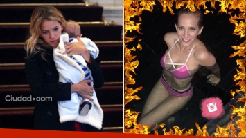 Luisana Lopilato, una mami súper sexy en bikini a seis meses de dar a luz. (Foto: Instagram)