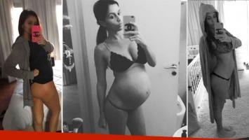 Paz Cornú recuperó su lomazo a tan solo dos semanas de dar a luz a Ítalo. (Foto: Instagram / Ciudad.com)