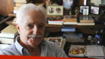 Murió Carlos Gorostiza, leyenda del teatro argentino. Foto: Web