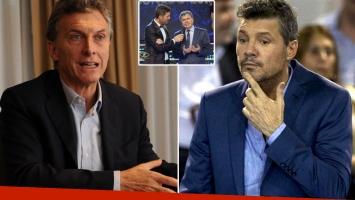 Macri, muy crítico con Tinelli y su enojo en Twitter. (Foto: Web)