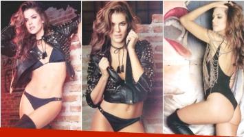 La producción súper sensual de María del Cerro (Fotos: revista Gente)