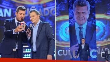 La cocina del regreso de Macri a ShowMatch. (Foto: Ideas del Sur - Jorge Luengo)