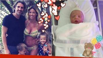 Rocío Guirao Díaz presentó a su hija recién nacida. Foto: Web/Twitter