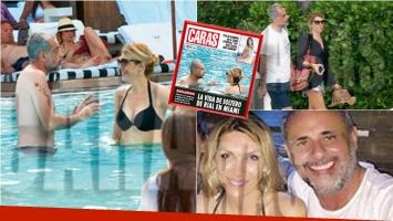 Andrea Terzolo, la nueva conquista de Jorge Rial en Miami. Foto: Revista Caras