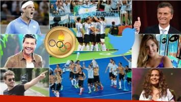 Los Leones se alzaron con la medalla de oro para Argentina en Río 2016. Foto: Clarín/ Web