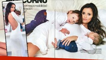 Paz Cornú y la polémica por los partos domiciliarios. (Foto: revista Gente)