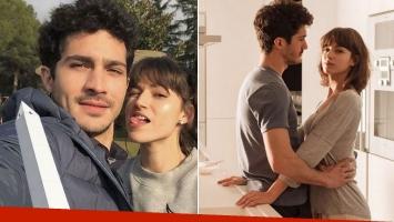 Chino Darín y su novia española, una parejita enamorada en Buenos Aires.