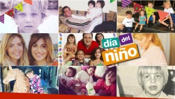 Los famosos celebran el Día del Niño. Foto: Instagram/ Twitter