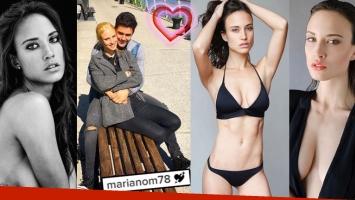Mariano Martínez, ¿enamorado de una modelo? (Fotos: Instagram)