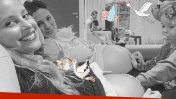 La tierna foto de Paula Chaves y Lourdes Sánchez embarazada. Foto: Instagram