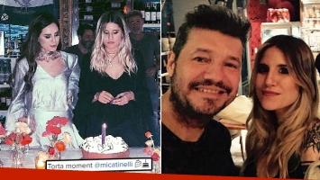 Fotos del íntimo cumpleaños de Mica Tinelli. (Foto: Instagram)