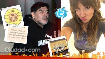 Los picantes tweets de Gianinna Maradona ¿para su padre? (Foto: Web)