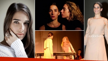 Juana Viale, una actriz que apuesta por el teatro off. (Foto: Web)