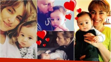 Las fotos más lindas de María Julia Oliván con su hijo Antonio. Foto: Instagram