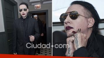 Las singulares exigencias de Marilyn Manson en su visita a la Argentina. (Foto: AFP)