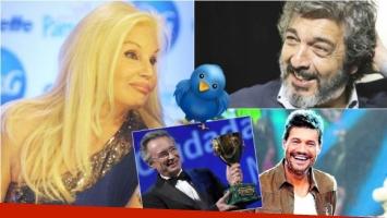 El divertido blooper de Susana Giménez: Ricardo Darín la corrigió y Tinelli se río de su furcio. Foto: Web
