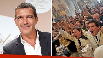 La singular cláusula religiosa de Antonio Banderas en sus contratos cinematográficos. (Foto: AFP)
