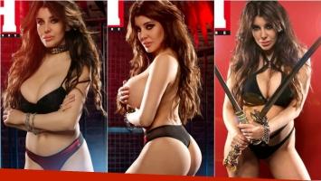 ¡Armas letales! Las fotos súper hot de Charlotte Caniggia al desnudo. Foto: Revista H