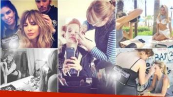 El backstage de estas diosas en la etapa de preproducción (Fotos: Instagram)