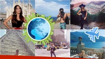 Los famosos y sus fotos alrededor del mundo en Instagram: paisajes increíbles y vistas alucinantes de sus viajes