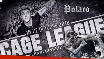 ¡MMA y shows en vivo! El Polaco en la segunda edición de Cage League Championship