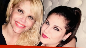 El impensado encuentro entre Nazarena Vélez e Ivana Icardi. Foto: Instagram