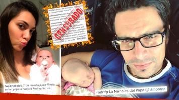 El novio de Tesouro publicó una foto con su beba, dos mujeres lo criticaron ¡y explotó con un tremendo insulto! (Foto: Instagram)