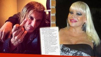 Durísimo comunicado oficial de Claudio Caniggia contra Süller. (Foto: Web)