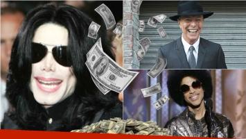 Michael Jackson, el famoso más rico después de muerto: conocé la lista completa. Foto: Web