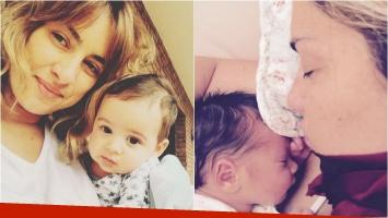 La crónica de María Julia Oliván en su primer Día de la Madre. Foto: Instagram