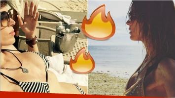 Las fotos sexies de Viviana Canosa en bikini tomando sol en México. Foto: Instagram