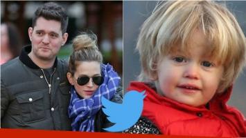El apoyo de los famosos en Twitter conmovidos por la salud de Noah, el hijo de Luisana Lopilato. Fotos: Web