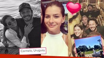 ¡Amor en Uruguay! Las fotos de la escapada romántica de China Suárez y Vicuña a Carmelo. (Foto: Web)