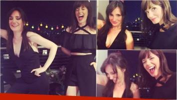 ¡Noche de amigas! Las divertidas fotos de Griselda Siciliani y Jorgelina Aruzzi juntas. Fotos: Instagram