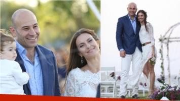 Se casó Martiniano Molina con Ilena Luetic. Foto: Twitter