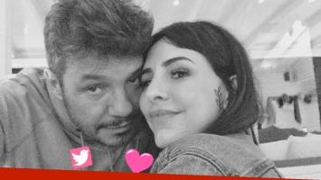 El tierno saludo de cumpleaños de Marcelo Tinelli a su hija Cande. (Foto: Twitter)