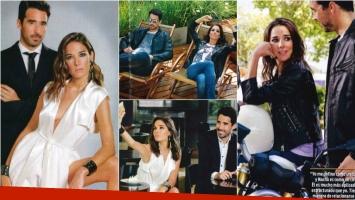 Juana y Nacho Viale se animaron a su primera producción de fotos juntos. Fotos: ¡Hola! Argentina